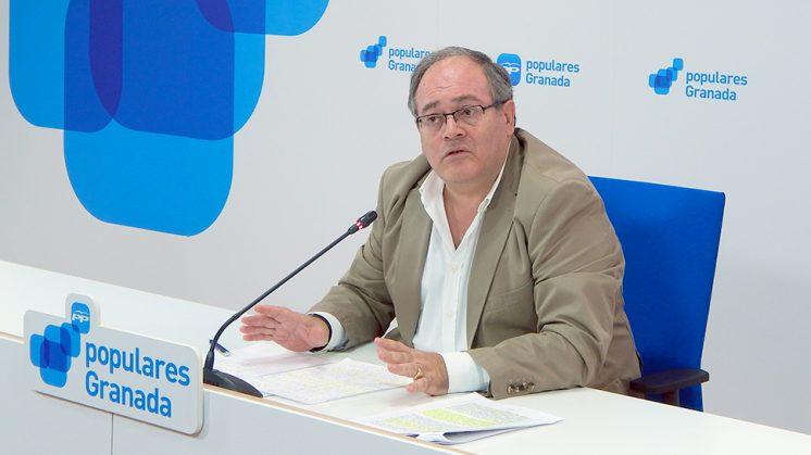 El portavoz del PP en Armilla, Antonio Ayllón. Foto: PP