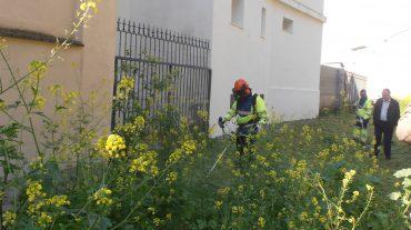 Comienza la campaña de desbroce en solares municipales