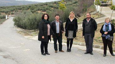 Diputación acomete mejoras en la carretera que une Zagra con Fuentes de Cesna por un importe de 240.000 euros