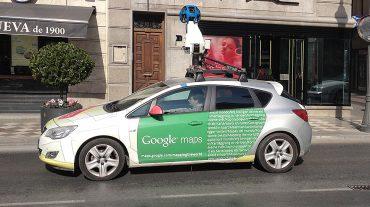 Cuidado, el coche de Google Maps nos está vigilando en Granada