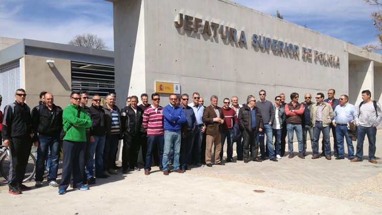 Policías de Granada reclaman más coordinación para evitar que se reproduzcan imágenes como las de Madrid