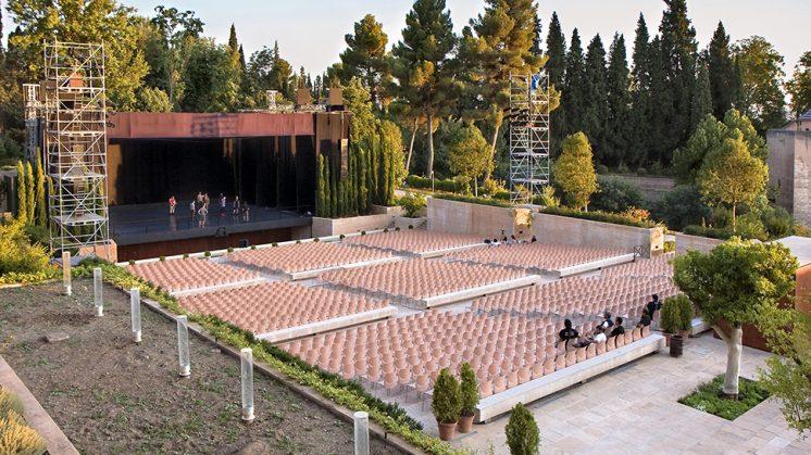 Los Jardines del Generalife, uno de los lugares emblemáticos del Festival. Foto: Festival de Música