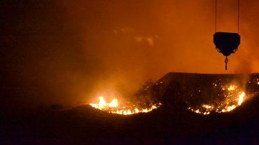 El viento y la caída de varios postes eléctricos, causa de los incendios registrados en la provincia