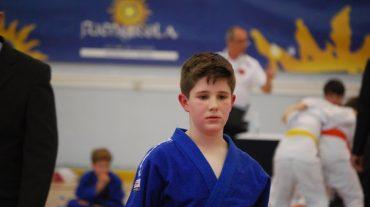 El judoka cullero Jorge Gómez, campeón de Andalucía