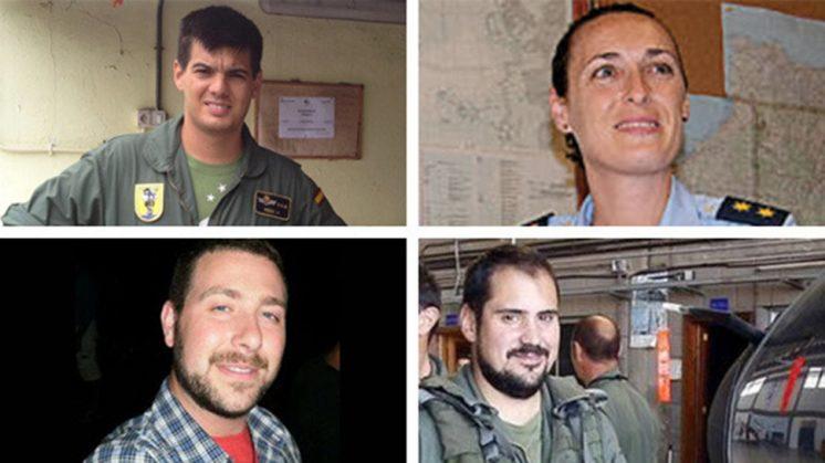 Los cuatro desaparecidos. Foto: Change.org