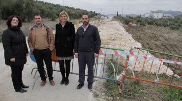 Diputación solventa el problema de los desprendimientos de tierra en la GR-6400