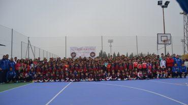 Más de 500 personas participan en una jornada del Club Deportivo Cúllar Vega Base