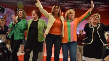 Elena Valenciano asegura que su adversario es la derecha europea