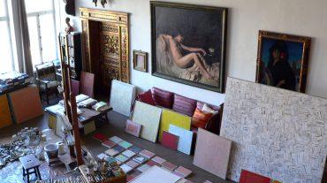 El estudio de Rodríguez Acosta, a disposición de los visitantes