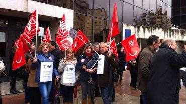 Los trabajadores de Justicia dicen no a la privatización del Registro Civil
