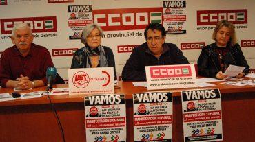 Piden participación en la manifestación contra los recortes impuestos por Europa