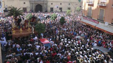 La Borriquilla abre la Semana Santa de Granada 2014 en una jornada con cuatro hermandades más