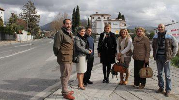La Diputación acometerá la remodelación del tramo de la GR-3202 que une Granada con Huétor Vega
