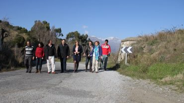 El servicio de Carreteras de la Diputación Provincial arreglará la carretera GR-3424 entre Los Guájares y Pinos del Valle