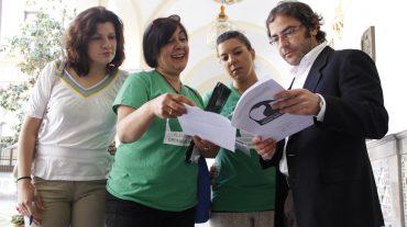 Presentadas las alegaciones y firmas contra la ordena