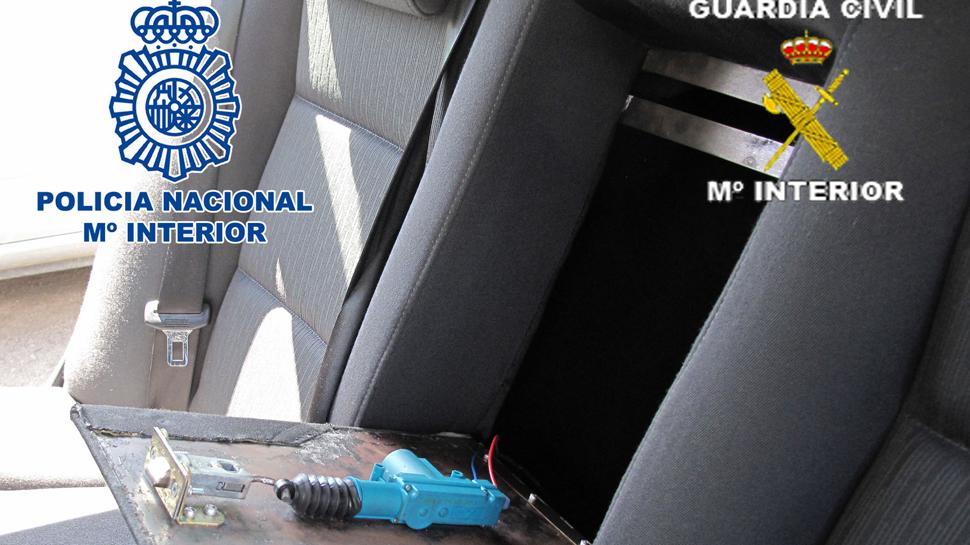 Desarticulada una organización criminal dedicada al trafico de cocaína