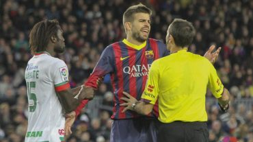 Tissone no estará con el Málaga, Piqué y Valdés con el Barça