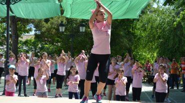 "Zujaira ""se movió"" a favor de la lucha contra el cáncer de mama"