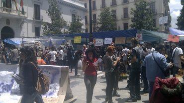 El 15M Granada intenta 'reflotar' su espíritu al tercer aniversario de su creación
