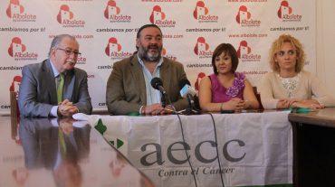 La Asociación Española contra el Cáncer comienza su andadura en Albolote