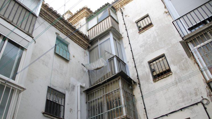 El barrio de Santa Adela, ubicado en el Zaidín. Foto: Álex Cámara