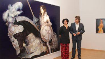 El Palacio Condes de Gabia se adentra en las ensoñaciones de la pintura de Leonor Solans