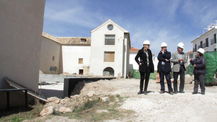 Huéscar recibirá una inversión de 170.000 euros para adecentar el entorno del antiguo convento de San Francisco