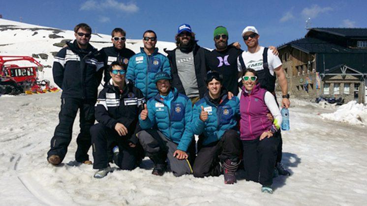 Pretemporada en Sierra Nevada para los equipos de alpino y snowboardcross de la RFEDI
