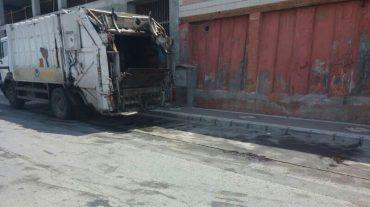 El PP de Salobreña denuncia el uso de las calles como lavadero de camiones de basura