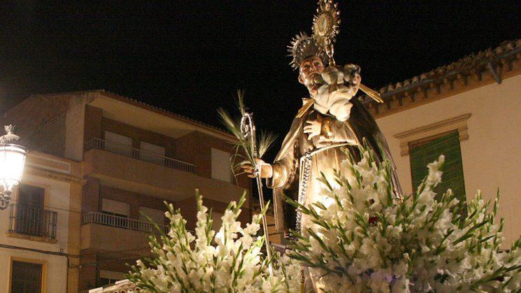 La procesión del patrón está prevista para el sábado a las 20.30 horas. Foto: Luis F. Ruiz
