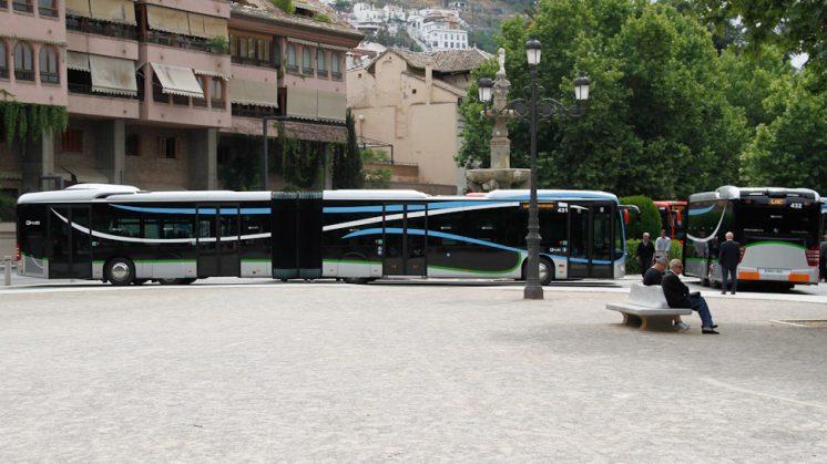 La capacidad de estos nuevos vehículos es de 193 viajeros. Foto: Álex Cámara