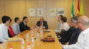 Representantes de la Comisión Europea visitan la Diputación