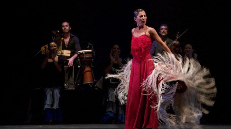 Sara Baras vuelve al escenario del Generalife con 'Suite Flamenca'. Foto: AG