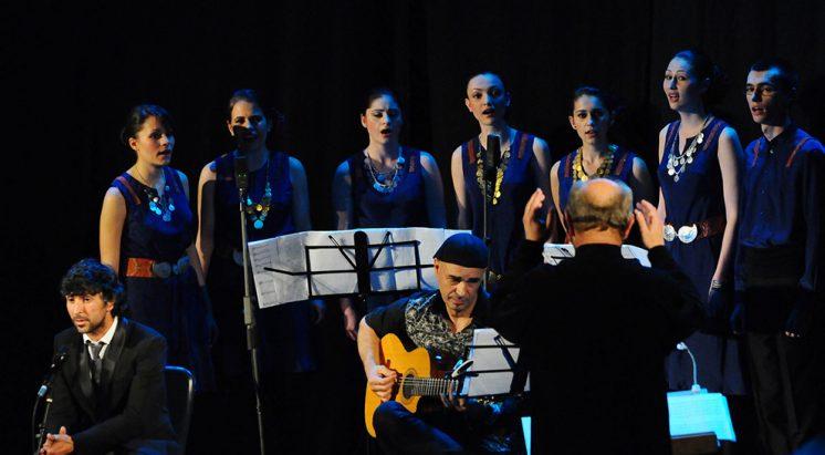 Arcángel Y Las Nuevas Voces Búlgaras Presentan Estruna En El Palacio De Carlos V Ahora Granada Ahora Granada