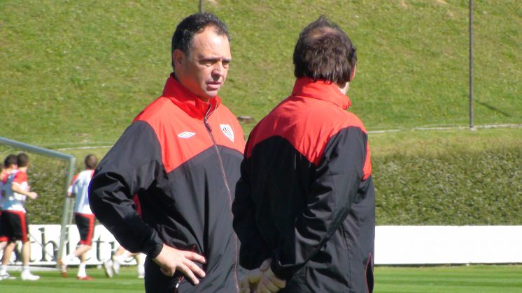 Caparrós dirigió durante cuatro temporadas al Athletic Club. Foto: joaquincaparros.com