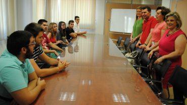 Casi 40 jóvenes abren el programa 'Descubriendo Europa' de Maracena