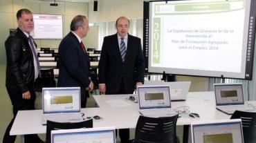 La Diputación dota de nuevo mobiliario a sus dos aulas de formación