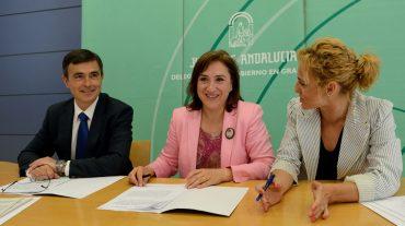 La Junta y la Diputación renuevan el convenio para atender a menores en riesgo