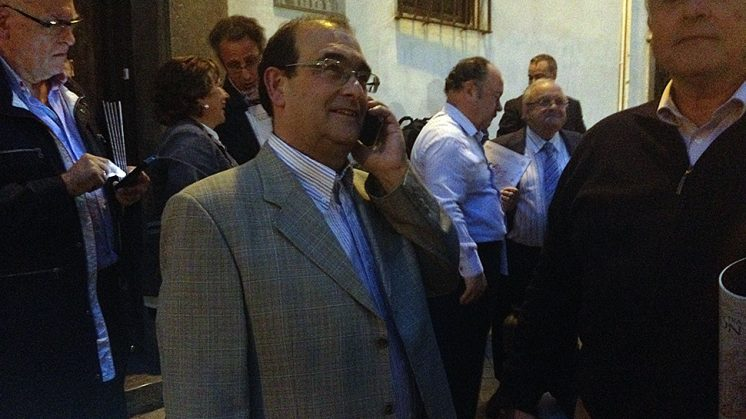Jesús Muros, tras ser elegido como nuevo presidente. Foto: Luis F. Ruiz