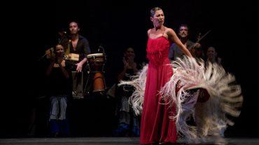 El 'Suite Flamenca' de Sara Baras toma el Teatro del Generalife
