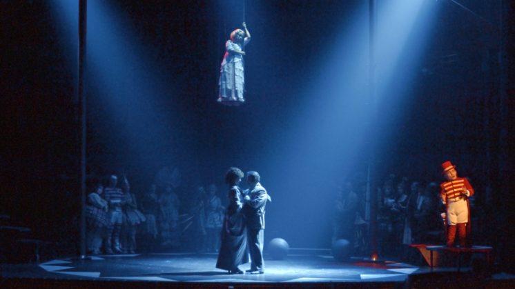 Circo, teatro y ópera se dan cita en el Palacio de Carlos V con el doble programa 'Black el payaso' e 'I pagliacci'