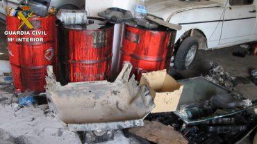 Descubren 19 talleres mecánicos clandestinos en la provincia de Granada