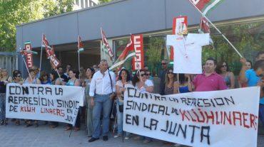 CCOO lamenta que la empresa de limpieza de la Junta despida a trabajadores de su candidatura