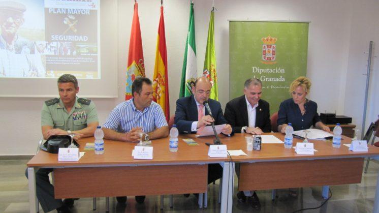 La conferencia forma parte de las actividades que, durante todo el año, se celebran en la provincia dentro del Plan Mayor Seguridad. Foto: aG