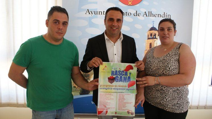 Una campaña de 'Rasca y Gana' promociona las compras en el comercio de Alhendín