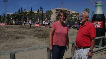 Motril acoge la segunda sede del circuito provincial de voley playa