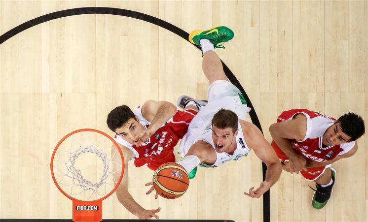 Brasil, el próximo rival de España, consiguió su segundo triunfo. Foto: FIBA