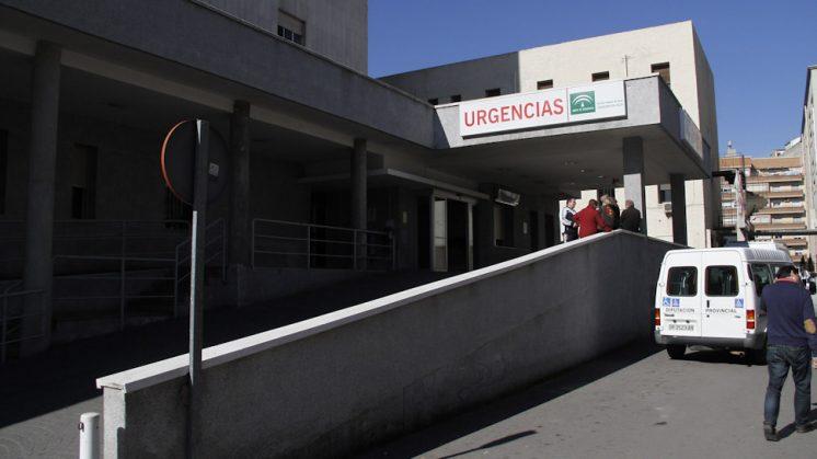 Imagen de Urgencias del Hospital de San Cecilio de Granada. Foto: Álex Cámara