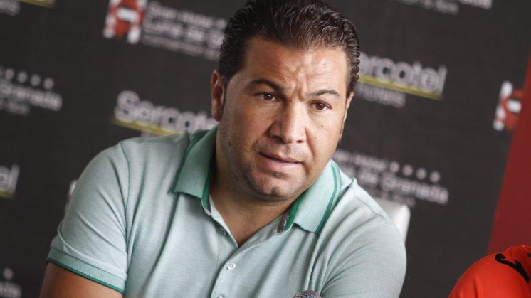 El director deportivo del Granada CF, Juan Carlos Cordero. Foto: Álex Cámara