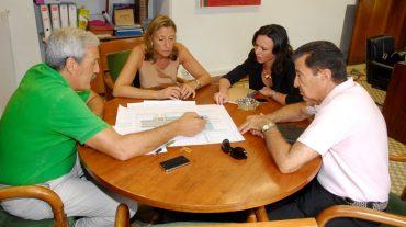 Reunión para abordar las mejoras necesarias en el recinto ferial